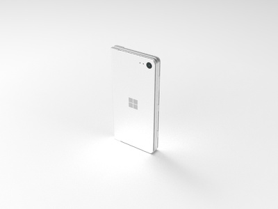 Product shot - phone design system interaction foldable surface windows industrial design ux ui