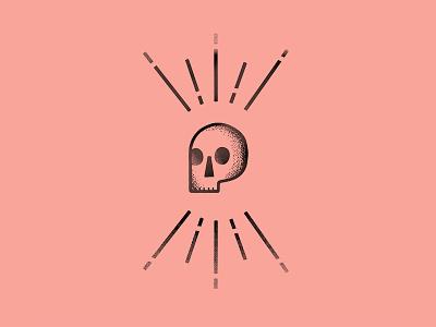 Skull Icon illustration flat design skull logo abstract iconography texture pixel vector lineart skull