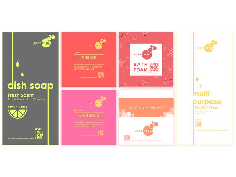 Package Sticker packaging brand design design branding