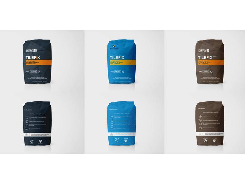Tilefix Branding print packaging design branding brand design