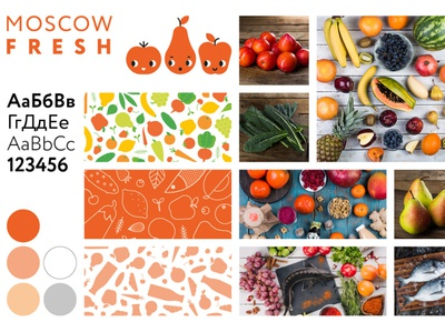 MoscowFresh product delivery service design