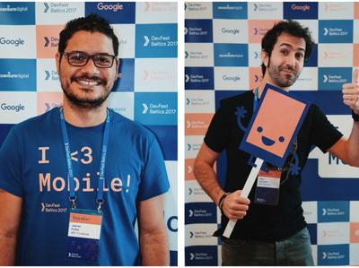 Design of Google DevFest conference
