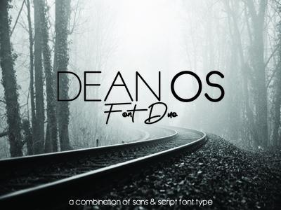 Dean Os Font Duo