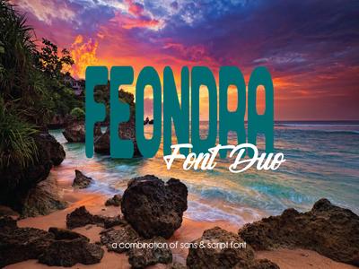 Feondra Font Duo
