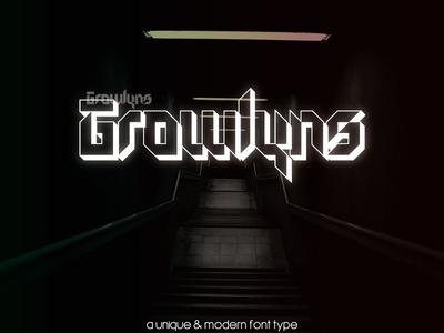 Growlyns Font