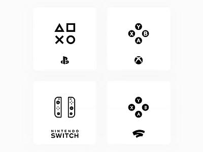 Hover stadia nintendoswitch xbox playstation console xd design uiinspiration interaction uidesign uiuxdesign adobe xd ui design