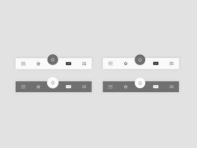 Navigation Bar uidesign uiux navigation bar navigation design concept adobe xd