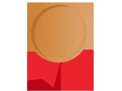 Bronze Medal illustration badge gamification bronze medal medal bronze