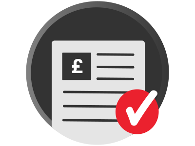 Fundraising Page Completed Badge checkmark gbp gamification completed badge fundraising