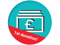 1st Donation