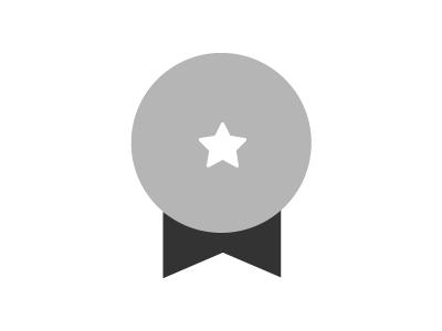Intermediate Badge gaming illustration fitness badge gamification inermediate badge