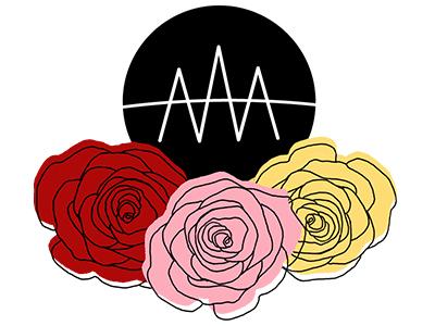 Personal Logo personal logo initials rose illustration self branding logo personal branding