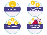 Gamification Badges Fundraising