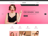 Ecommerce landing page