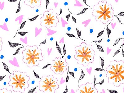 Floral Room fashion illustration print design textile print editorial design surfacedesign pattern art floral art illustration