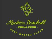 Modern Baseball tee
