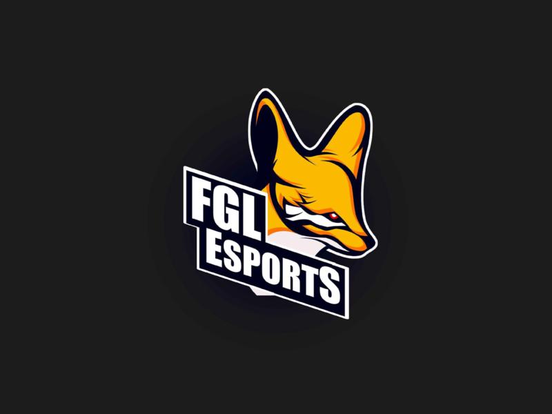 FGL E-SPORTS esports esport esports logo esport logo competition tournament event gaming desert animal fennec colors logo illustration artwork art algeria