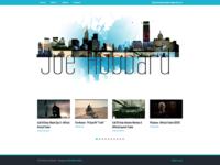 Film Editor Logo Header and Web Design
