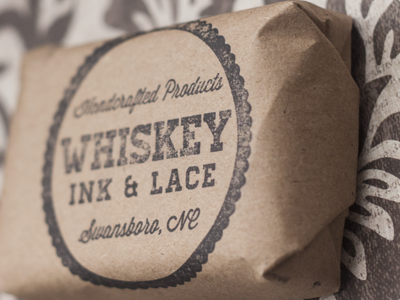 Whiskey, Ink, & Lace Branding