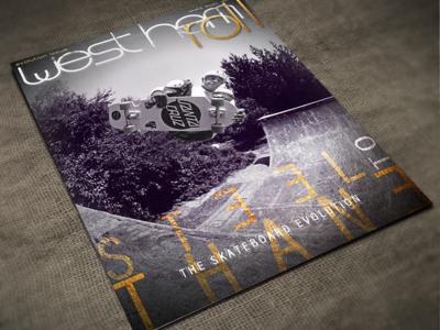 Skateboard Magazine Cover - West Hem Roll
