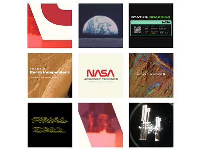 NASA's Journey to Mars - Mock Promo motion graphic