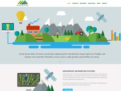 Web Design  app software outdoors flat design flat adobe design illustration ux web template web design