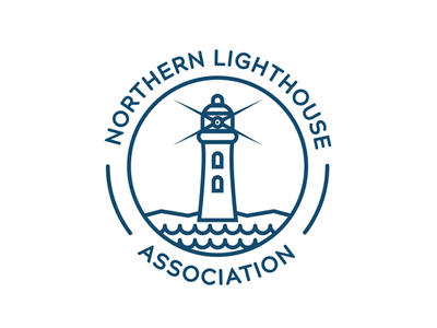 Lighthouse Line Logo branding logo design logo nautical lighthouse simple flat line