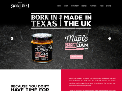 The Sweetbeet shop food theme ui web photoshop design e-commerce ux web design wordpress