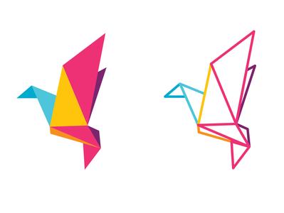 Arts Community Icon Project bird vector illustrator simple logo design flat illustration