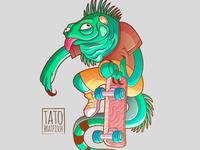 Crazy Lizard