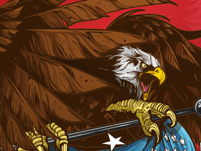 Eagle illustraion freedom america american eagle usa vector art vector eagle