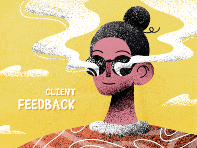 FEEDBACK artist design google invaits clients feedback graphic graphics illustration