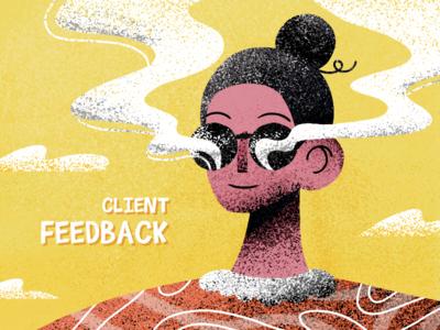 FEEDBACK artist design google invaits clients feedback graphic graphics illustration