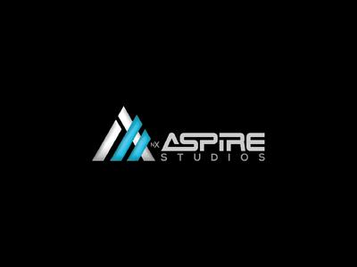 Aspire Studios Logo branding design internet online corporate marketing studios studio aspire