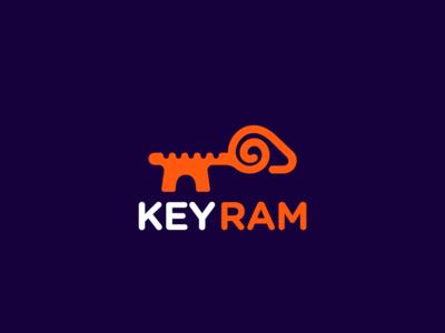Logo Design - Key Ram