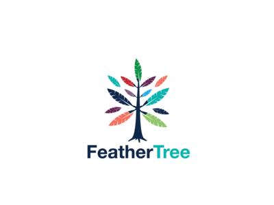 Logo Design - Feather Tree