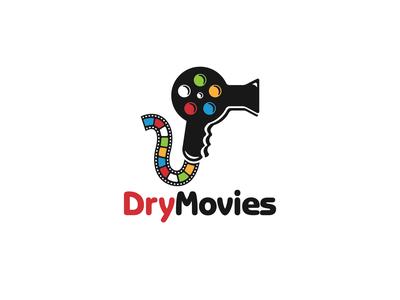Logo Design - Dry Movies