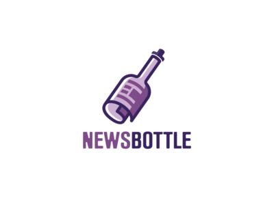 Logo Design - News Bottle