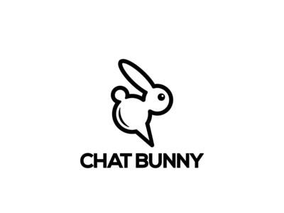Logo Design - Chat Bunny