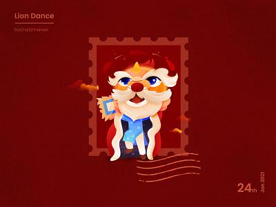 Lion Dance tet new year lunar new year lion dance