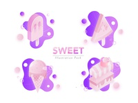 Sweet Illustration Pack