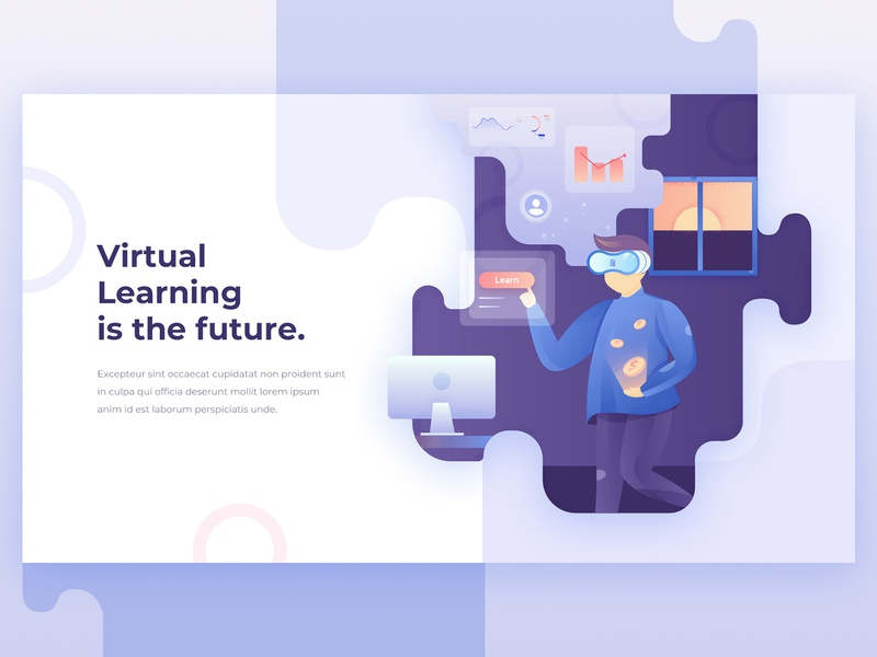 Virtual Learning Environment By Rachelizmarvel On Dribbble