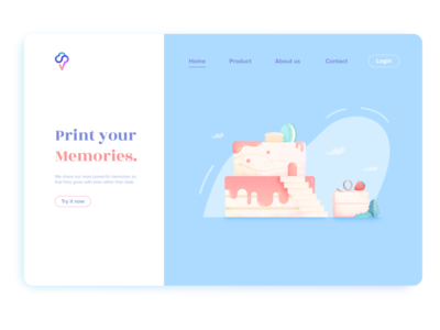 Print your memories UI no.2