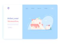 Print your memories UI no.2