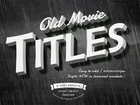 Old Movie Titles