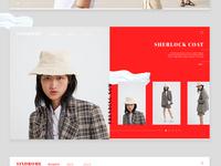 Sindrome / Fashion Web Design