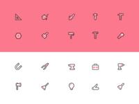 40 Tool Icons