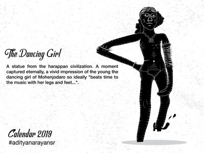 The Dancing Girl of Mohenjadaro