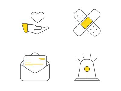 Health Icons - Alternate health icon icon set icons