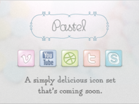 Pastel Icon Set Preview Part II